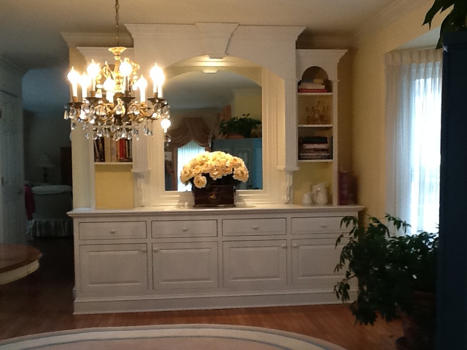 Wood creations residential woodworking in washington dc for Residential cabinets